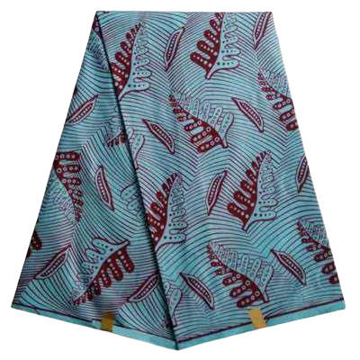 High Quailty Polyester African Print Fabric #10 - Alagema Fabrics & Accessories