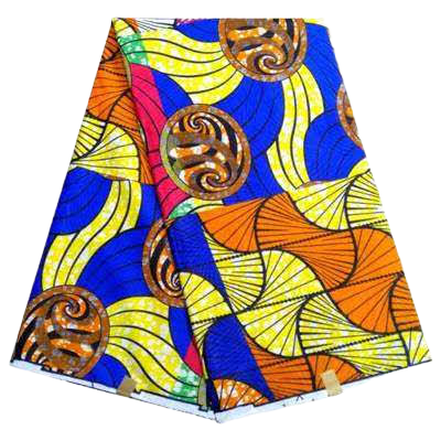 High Quailty Polyester African Print Fabric #25 - Alagema Fabrics & Accessories