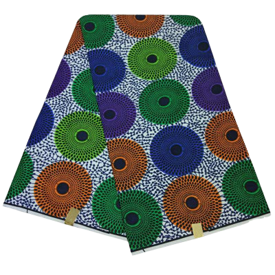 High Quailty Polyester African Print Fabric #11 - Alagema Fabrics & Accessories