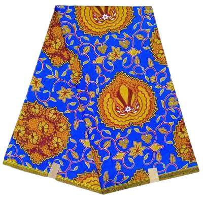 High Quailty Polyester African Print Fabric #22 - Alagema Fabrics & Accessories