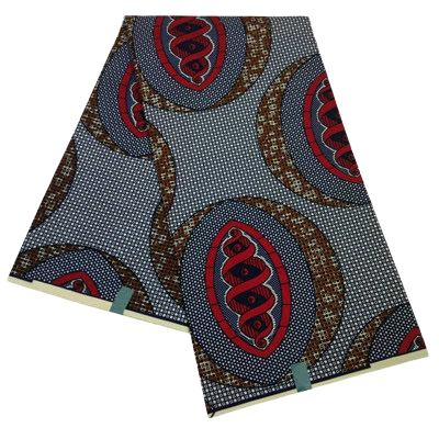 High Quailty Polyester African Print Fabric #1 - Alagema Fabrics & Accessories