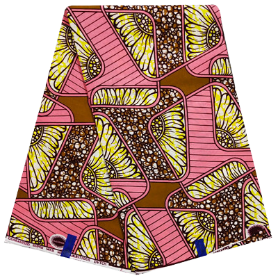 High Quailty 100% Cotton Super African Print Fabric #72 - Alagema Fabrics & Accessories