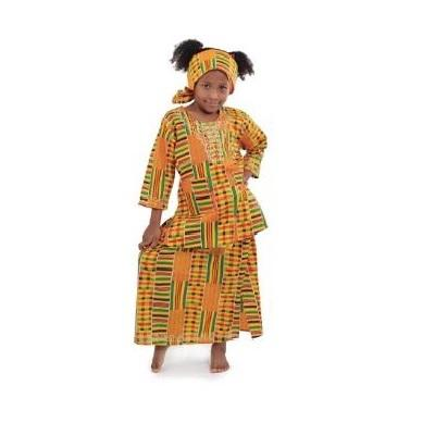 Girl's Kente Skirt Set #1 - Alagema Fabrics & Accessories
