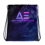 Abstract Effects Drawstring Bag