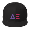 Abstract Effects Snapback Hat (Color)