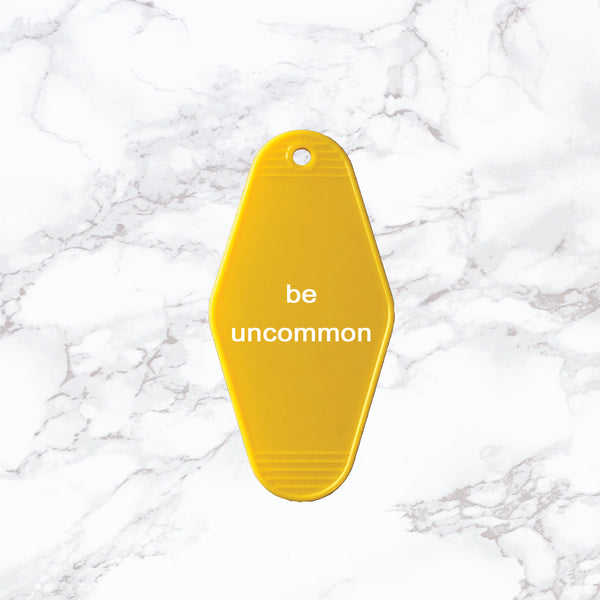 Key Tag | Be Uncommon