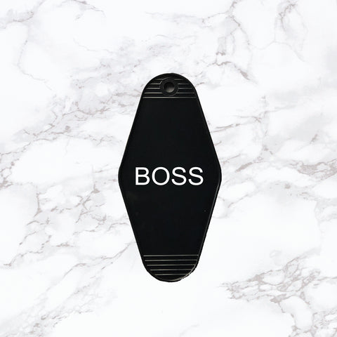 Key Tag | Boss