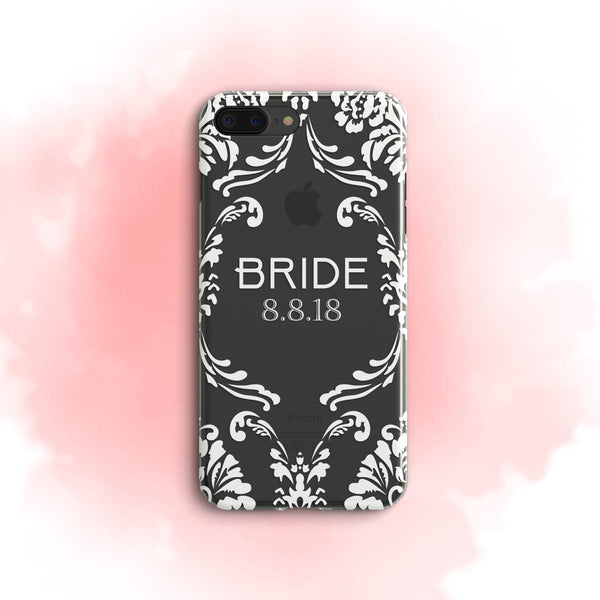 iPhone Case Clear Rubber Samsung Galaxy - Bride Case
