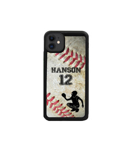 iPhone Case Samsung Galaxy - Personalized Baseball Case