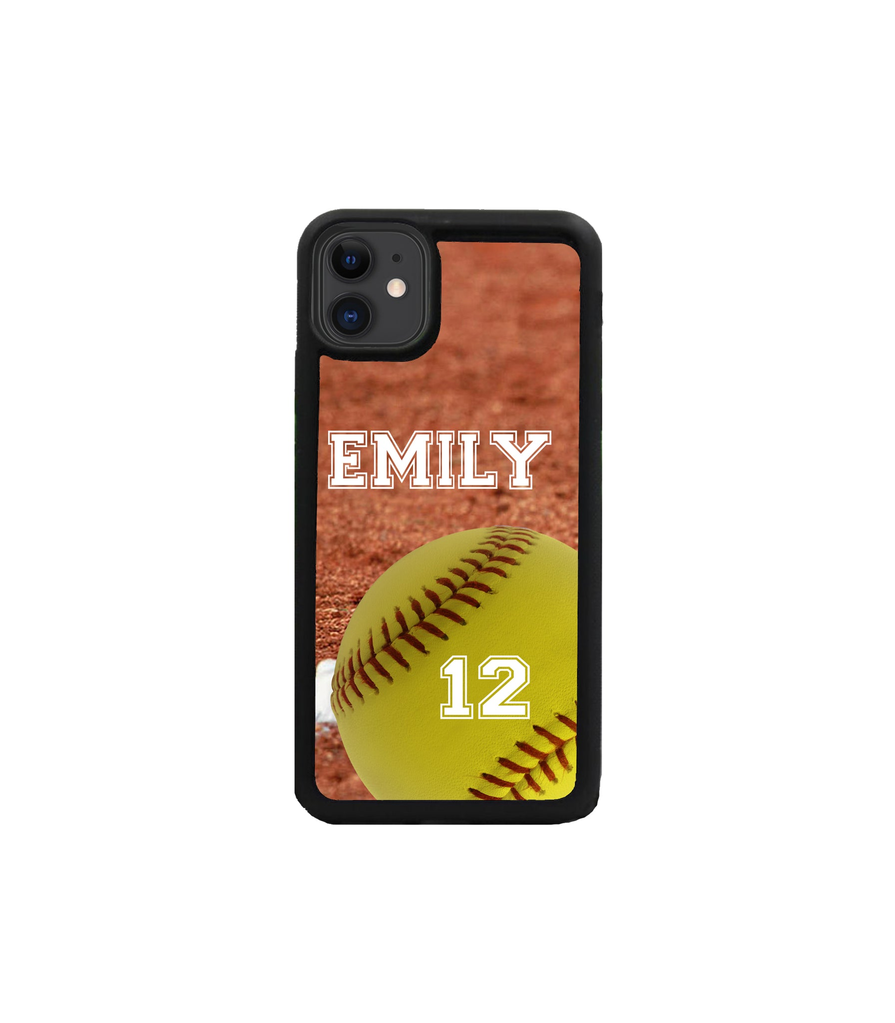 iPhone Case Samsung Galaxy - Personalized Softball Case