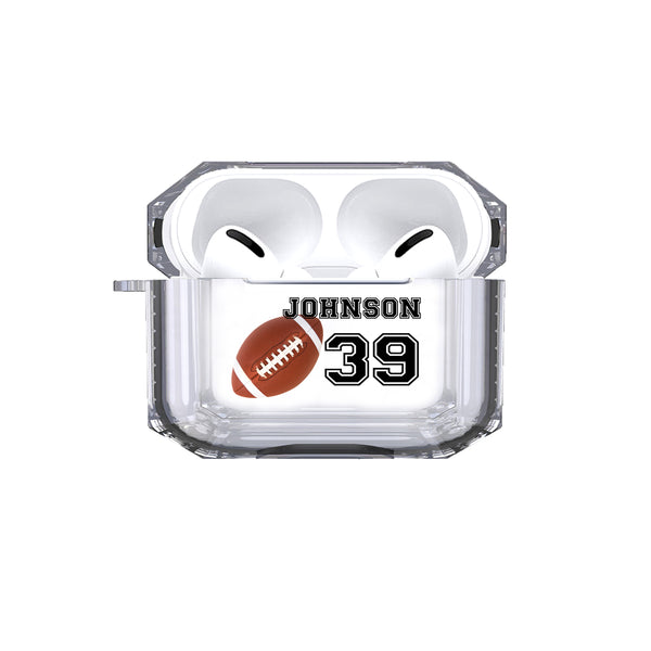 AirPods Pro - Personalized Football Tough Case