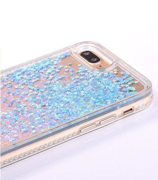 iPhone Case Samsung Galaxy - Personalized Mermaid Glitter Case