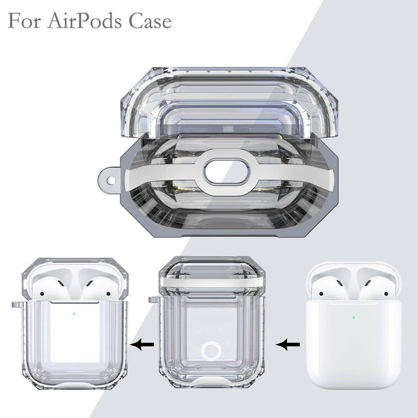 Protective Customized Airpod Case Custom Design Brand logo Airpods Case Customized Name Airpods Case Personalized Gift Air Pod case