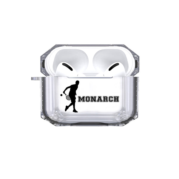 Protective Customized Sports AirpodS Pro Case Tennis Name Air pods Pro Case Personalized Gift for Tennis Player Coach Mom Dad Fan Sport ball