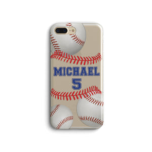 Personalized Baseball Name and Number phone case.Raising Baller.Gift For Baseball Mom.iPhone X case.iPhone 11 case.iPhone XRcase Samsung S10