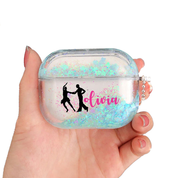 AirPods Pro - Personalized Dancer Glitter AirPods Pro