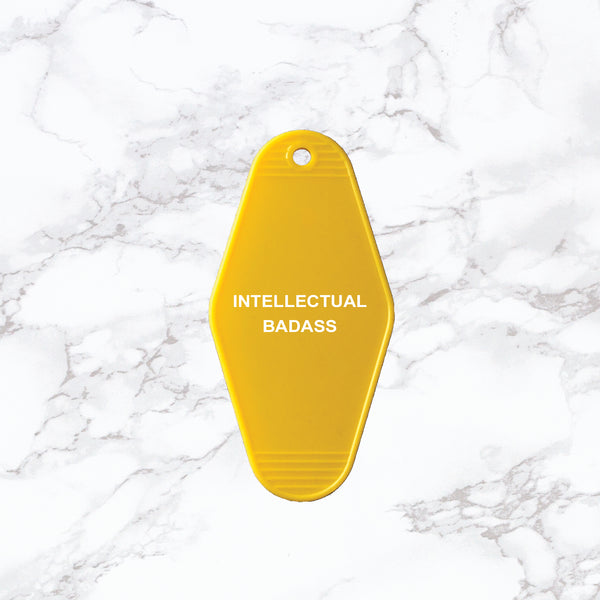 Key Tag | Intellectual Badass