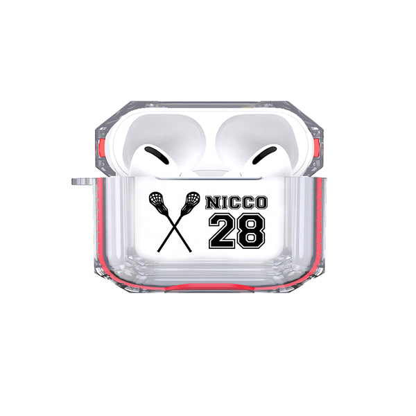 AirPods Pro - Personalized Lacross Tough Case