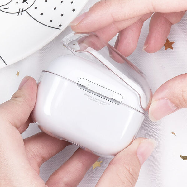 AirPods - Personalized Monogram Clear AirPods Pro Case