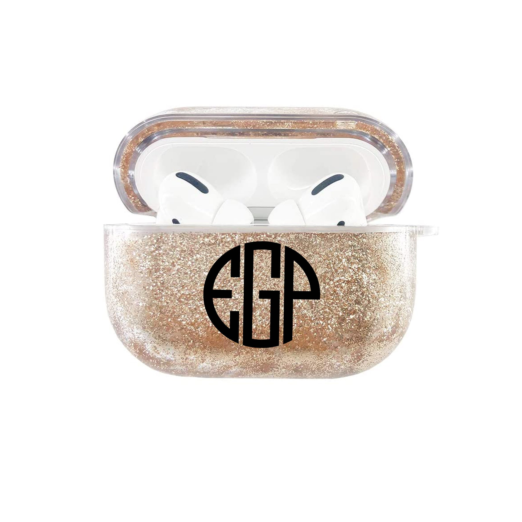 AirPods Pro - Personalized Monogram Glitter AirPods Pro