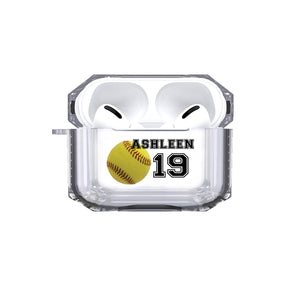 AirPods Pro - Personalized Softball Tough Case