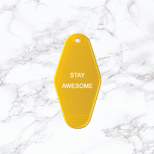 Key Tag | Stay Awesome
