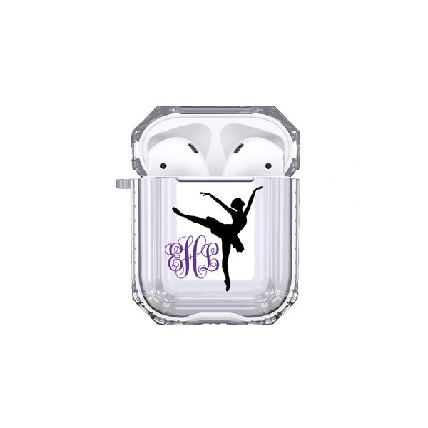 AirPods - Personalized Ballerina Monogram Tough Case