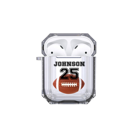 AirPods - Personalized Football Tough Case