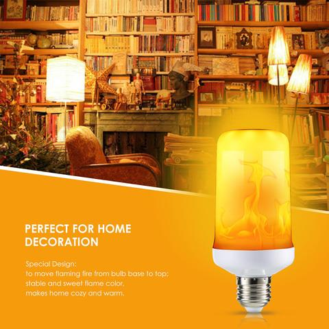 LED Effect Flickering Emulation Flame Lamp