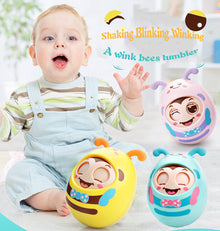 Baby Tumbler Teether Toys With Newborn Rattle Winking Reviews