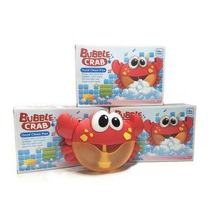 Automatic Bubble Blower Machine Crab toy