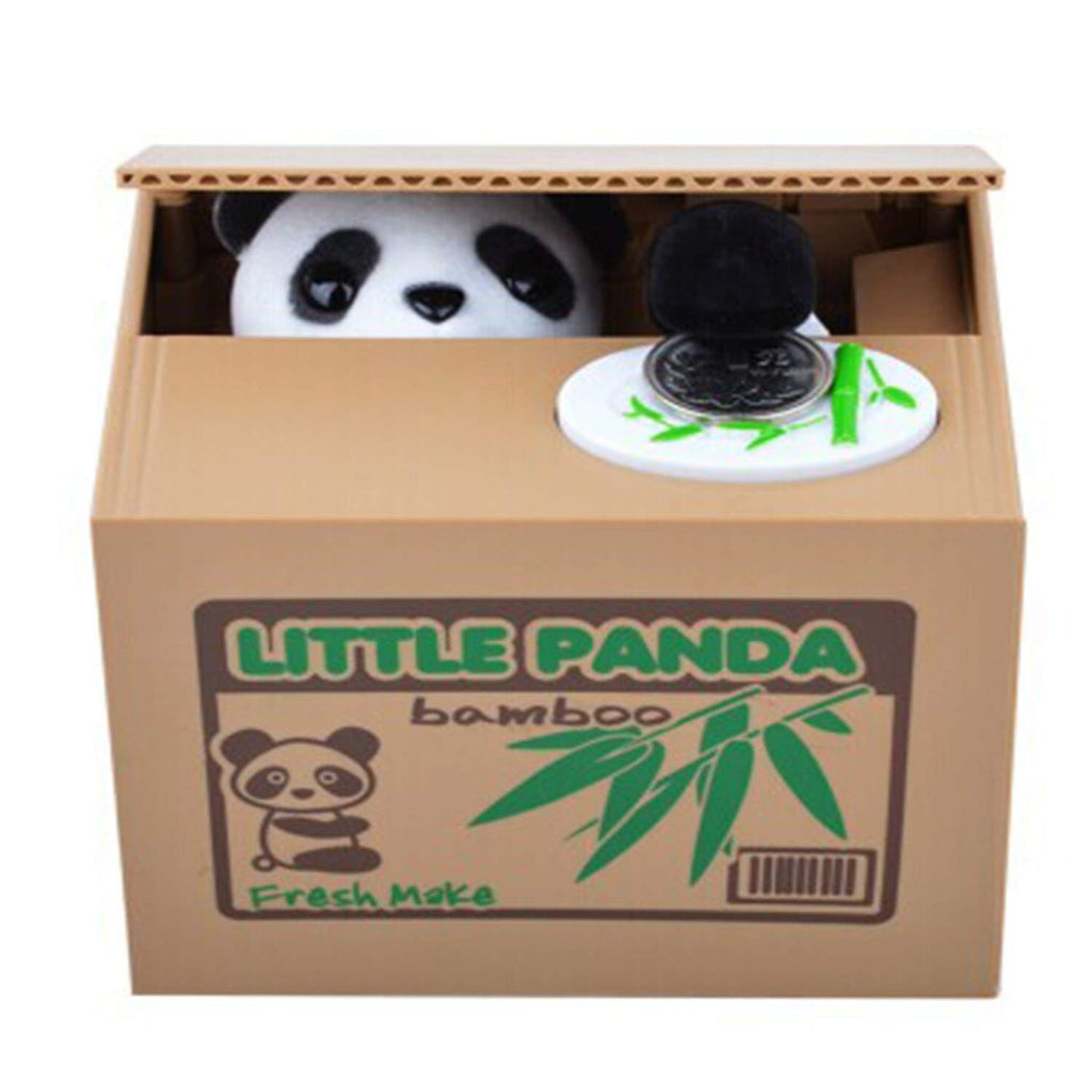 Greedy Panda Piggy Bank