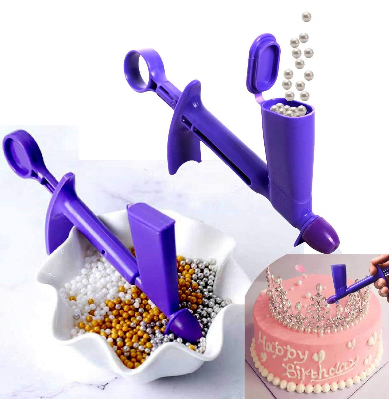 Game Changer---- Pearl Applicator For Cakes