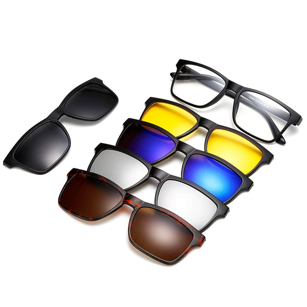 5 IN 1 MAGNETIC SUNGLASSES