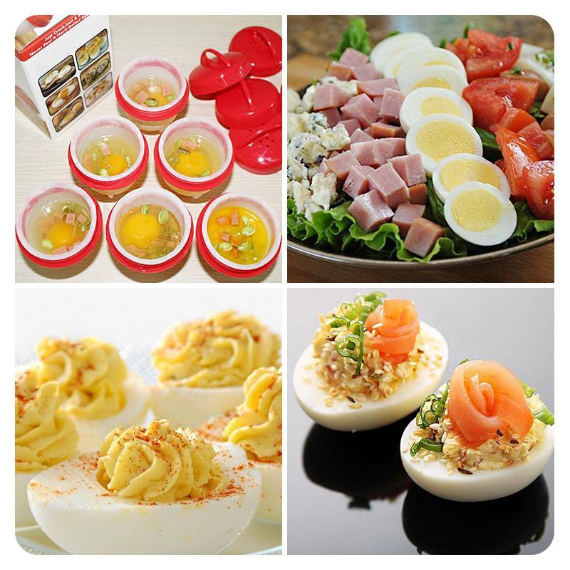 Last Promotion 50% OFF Today---Egg Cooker (6Pcs)