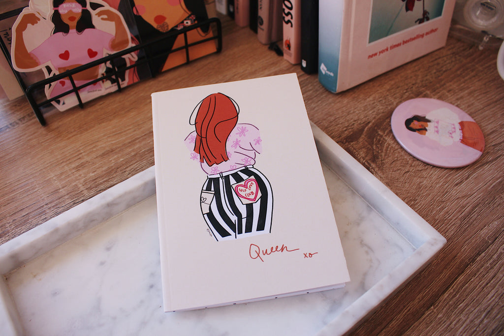 'Queen xo' A6 Notebook