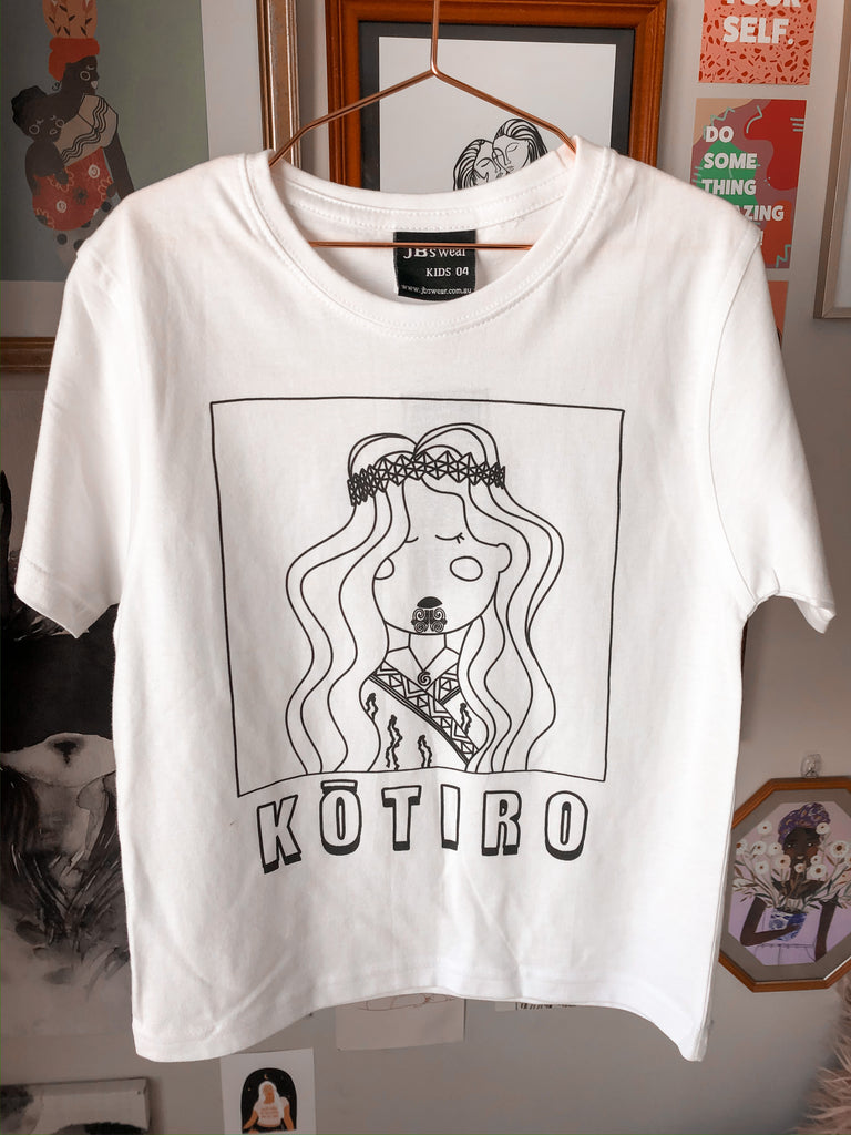 SALE ITEM KIDS KOTIRO TEE