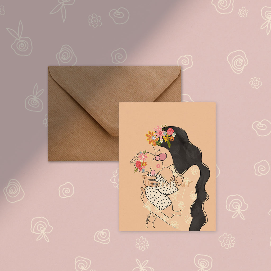 Set of 3 A6 Greetings Cards