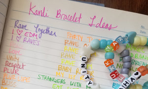 The Ultimate Kandi Rave Bracelet Phrase List