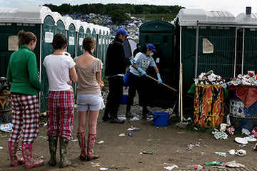 Our Guide to Surviving Music Festival Port-O-Potties