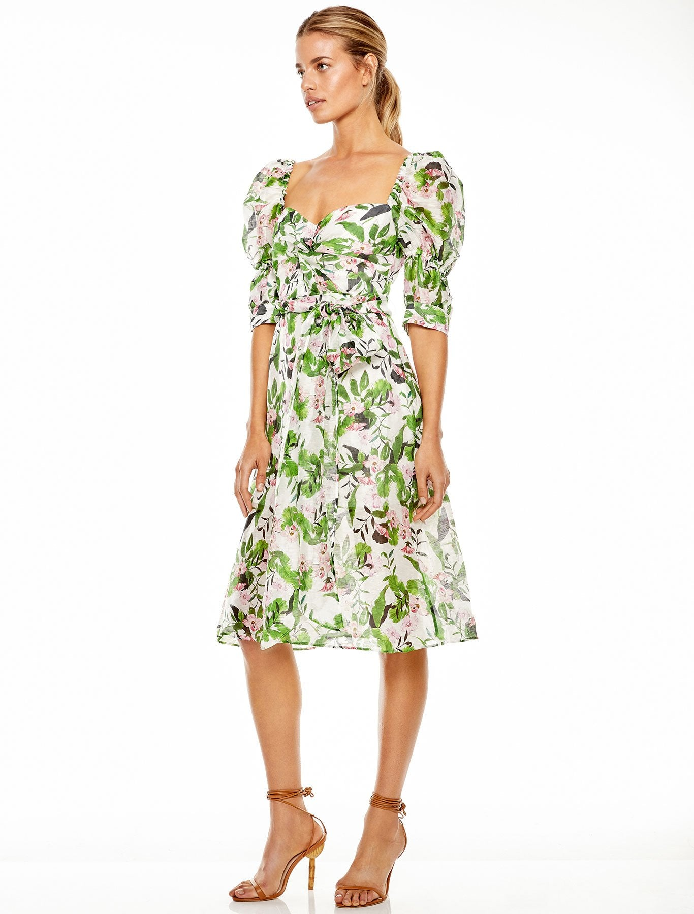 TROPO DREAMS MIDI DRESS