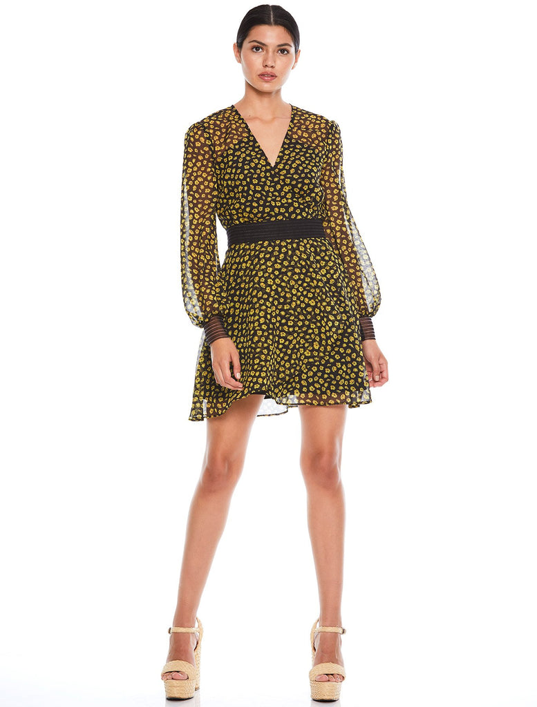 HALO L/S MINI DRESS