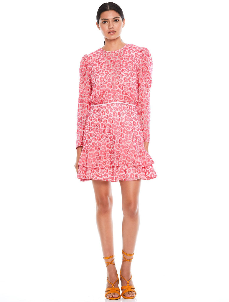 THE BLOSSOM L/S MINI DRESS