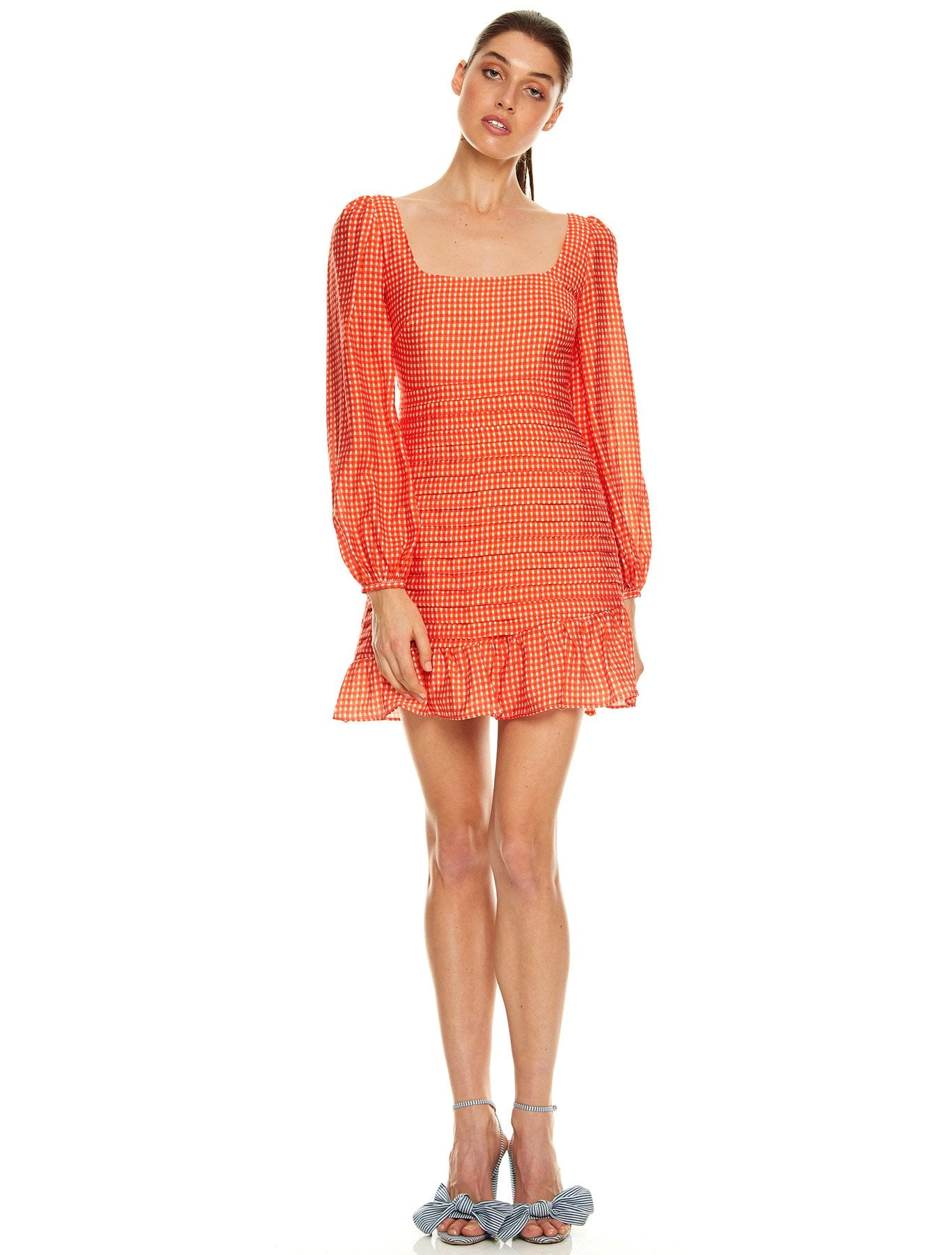 HONEY HUE L/S MINI DRESS