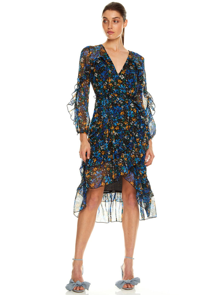 HIGHER LOVE L/S MIDI DRESS