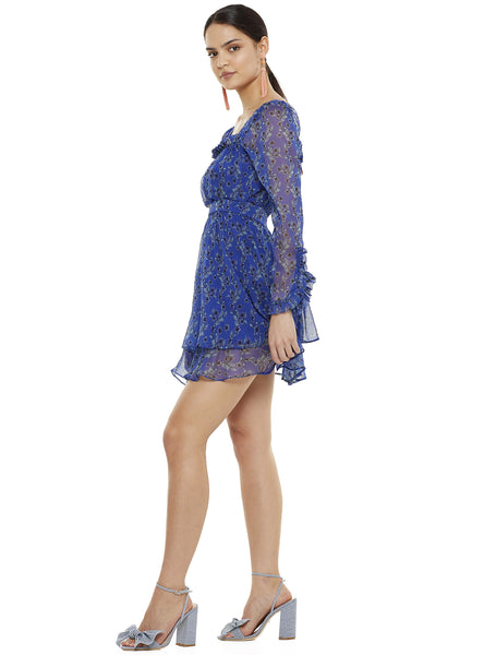 MORNING LIGHT LS MINI DRESS