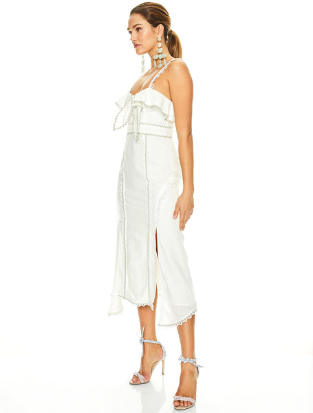 CHAMPAGNE COCKTAIL MIDI DRESS