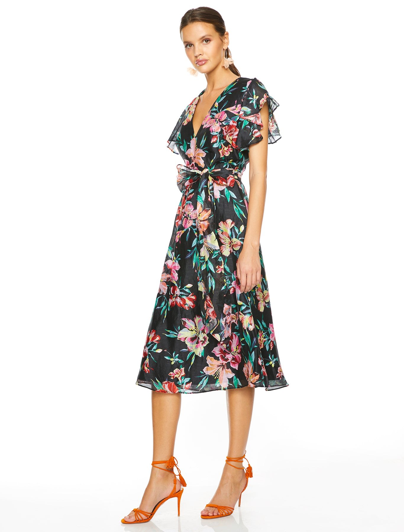 CABANA NIGHTS MIDI DRESS
