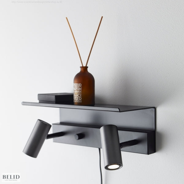 Cato wall shelf Double (exclusiv Cato wall )