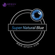 Ofovv® Eye Circle Lens Super Natural Blue Colored Contact Lenses V6026(1 YEAR)